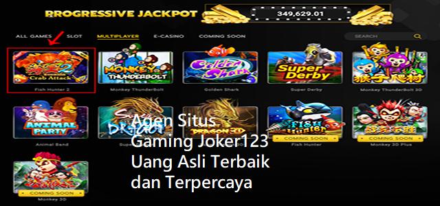 Agen Situs Gaming Joker123 Uang Asli Terbaik dan Terpercaya